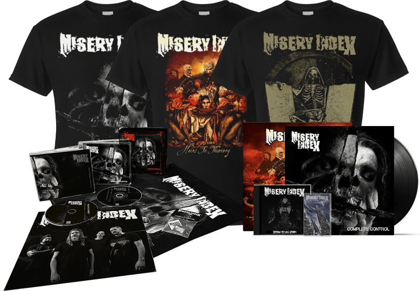 Misery Index band official merchandise